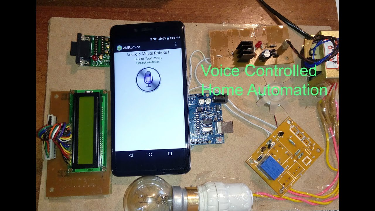 Voice Recognition Based Home Automation Youtube Howto Control Your Sprinklers With X10 Commands Howto39s