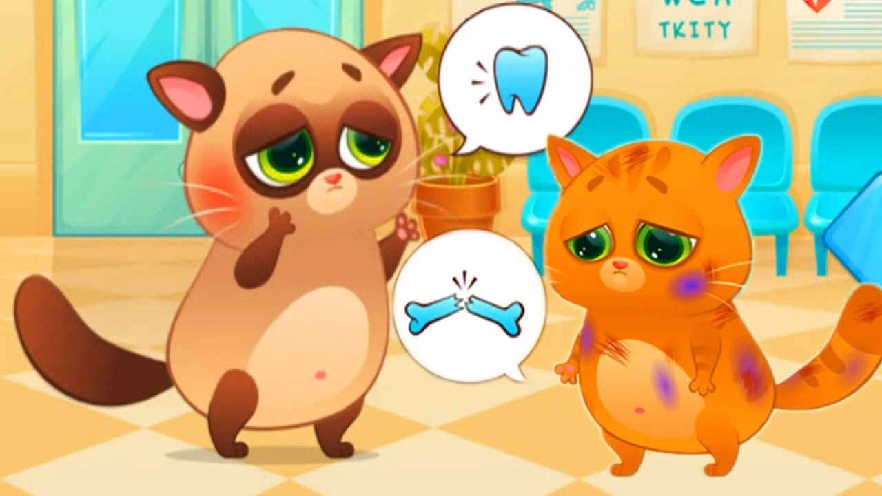 Permainan Anak Kucing Lucu Seru Film Kartun Perempuan Youtube