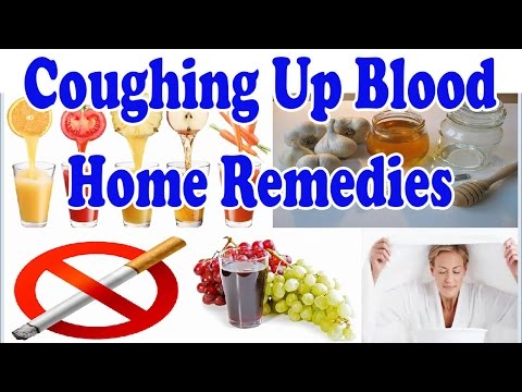 Coughing Up Blood - Natural Treatment For Coughing Up Blood