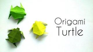 Origami Animals  Tutorial: Origami Turtle