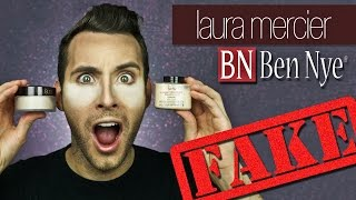 FAKE ASS Setting Powders | Laura Mercier + Ben Nye Banana