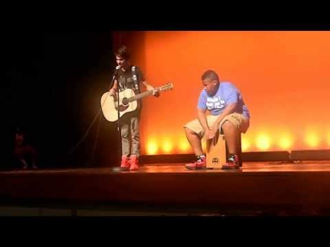 Nicholas Alexander - remembering sunday (THS Talent Show)
