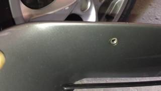 how to remove side vents desnorkel your porsche boxster 986 2001 2004