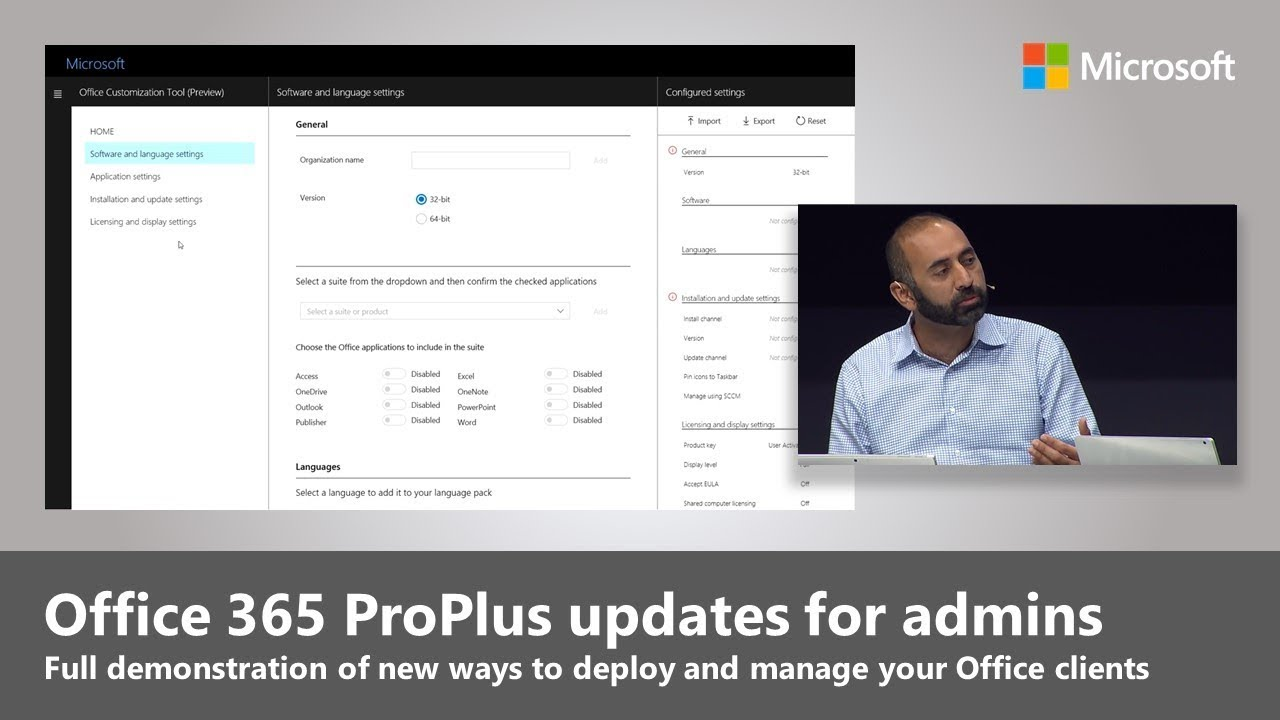Office 365 ProPlus updates for admins: new ways to deploy and manage your  Office clients