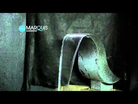 Swan Stainless Steel Pool Water Feature