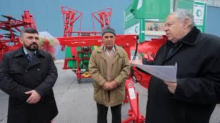"""Абонатът на """"Български фермер"""" Жеко Жеков получи голямата награда - подемник """"Мамут"""""""