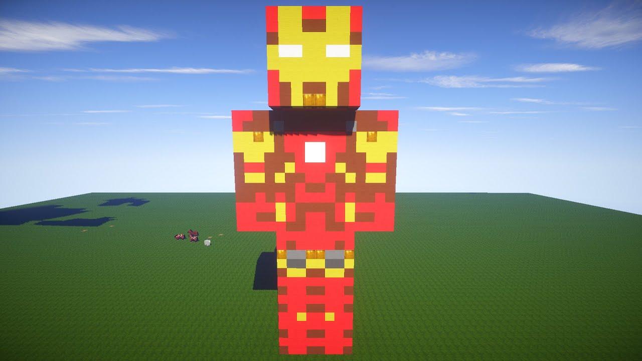 Железный Человек в Майнкрафт
