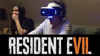 RESIDENT EVIL 7 - VR Demo Reaction!