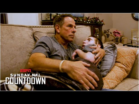 A father, a son & their Saints: Luke Siegel's story has had an impact on Drew Brees | NFL Countdown