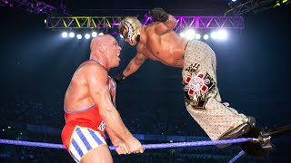 Rey Mysterio wins a Battle Royal for a U.S. Title Match: SmackDown, Oct. 14, 2004