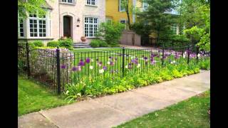 Wood, Vinyl, Chain Link, Split Rail, Wrought Iron Fence Designs
