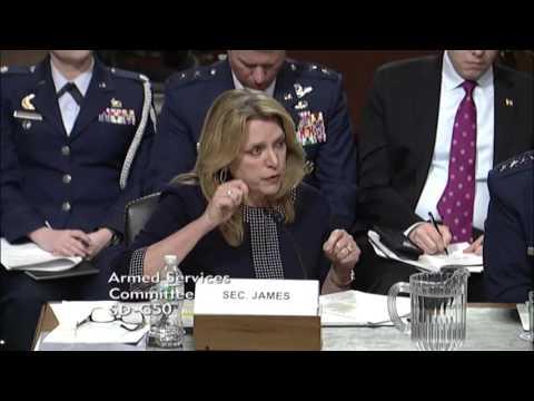 Sen. Dan Sullivan (R-AK) at a Senate Armed Services Committee Hearing - March 3, 2016