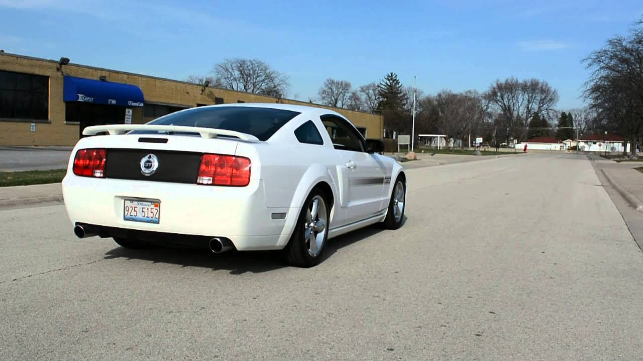 2007 Ford Mustang Gt Cs Kooks Lt Header Catted H Pipe