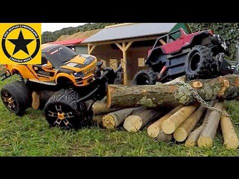Bruder Toys Monster Truck Race Bworld Timber Carrera Rc