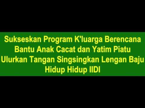 Mars IIDI Text dan Lyric MP4