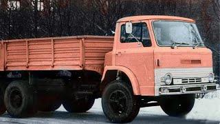 Опытный Советский Урал-385 с кабиной от Ford