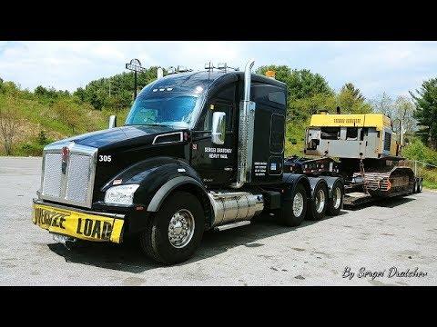 KENWORTH HEAVY -- Episode 48 -- Cruising Down I-77 in WV and VA