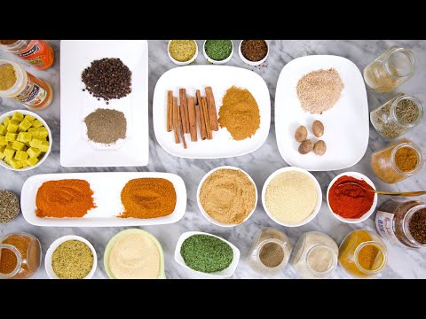 All You Need to Know About FOOD SPICES & HERBS + SPICES EVERY COOK SHOULD HAVE! – ZEELICIOUS FOODS
