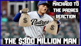 2019 Fantasy Baseball - Manny Machado To The Padres Reaction
