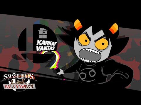 Smash Bros Lawl Beatdown Character Moveset Karkat Vantas