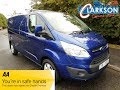 FOR SALE - www.clarkson-commercials.co.uk - 2015 Ford Transit Custom 270 Limited L2