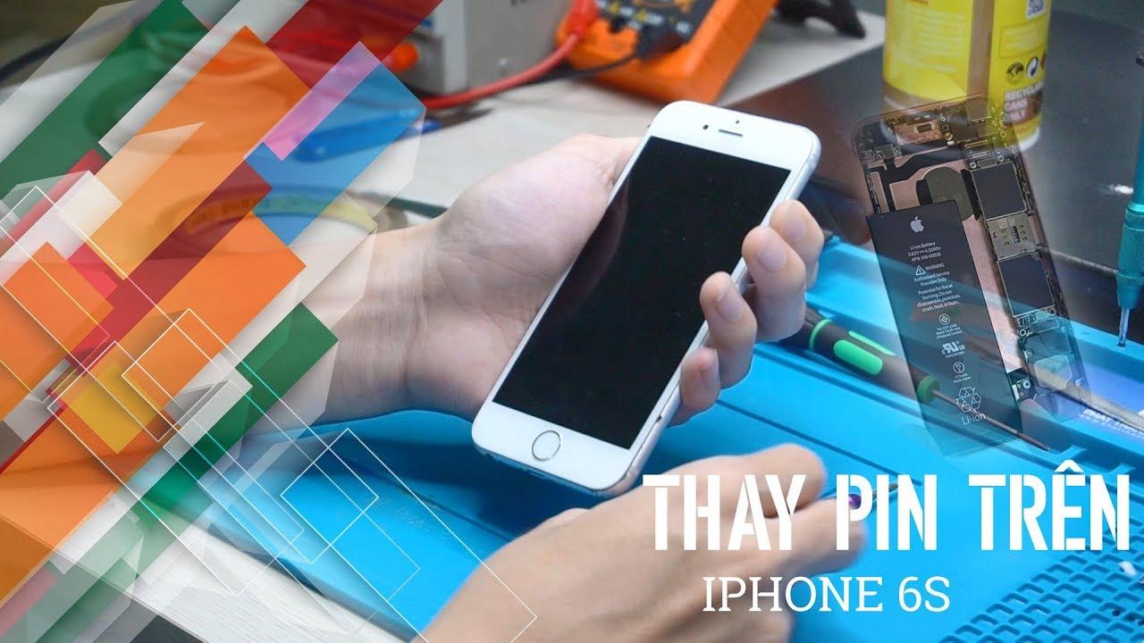 iPhone 6s nhanh hết pin phải làm sao? | iPhone 6s battery replacement |Phát Thành Mobile