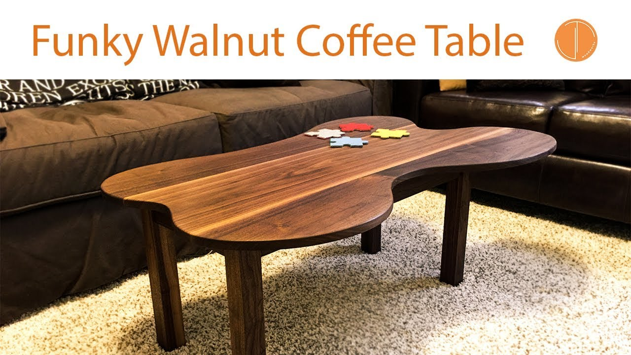 Funky Walnut Coffee Table Build