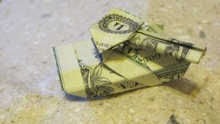 Dollar Origami: Esseltine Battle Tank