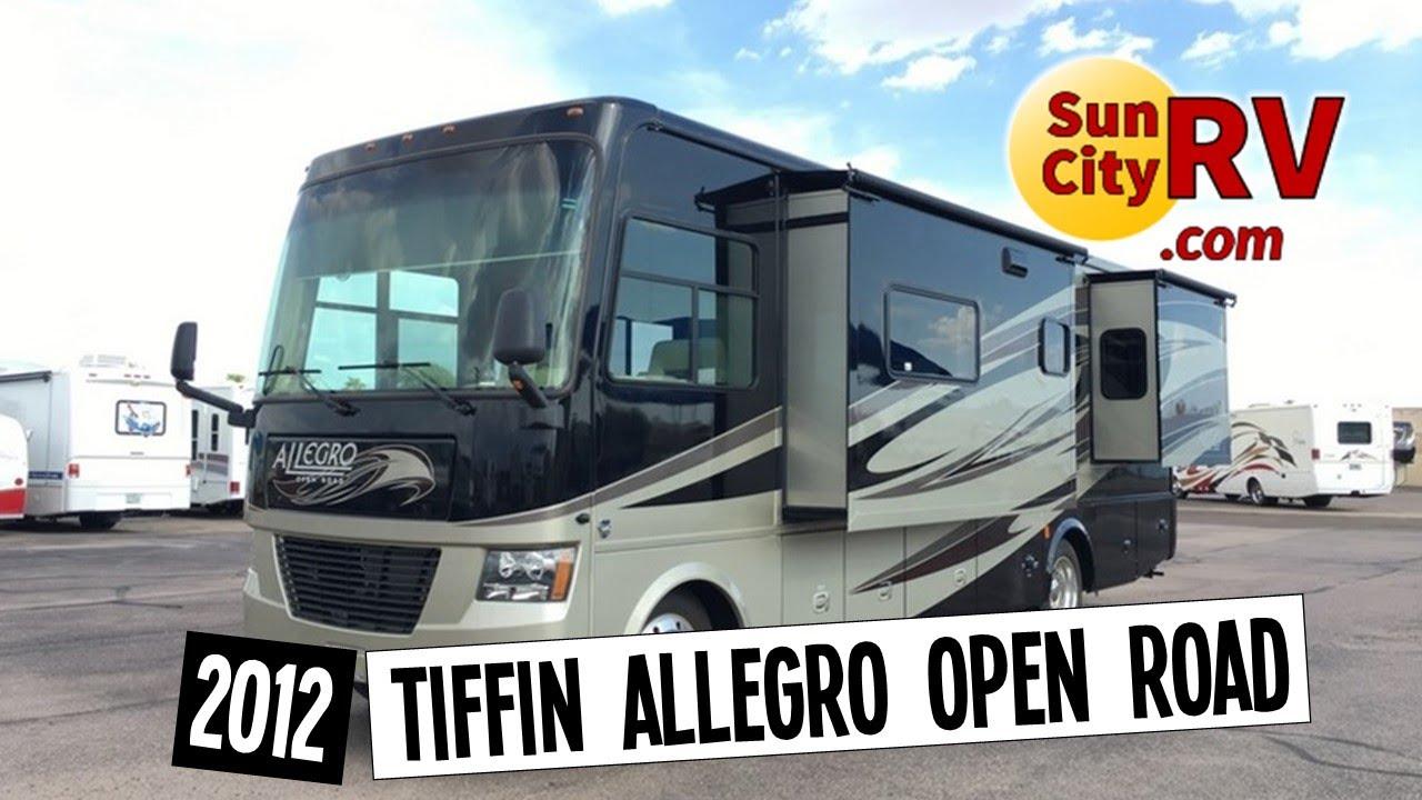 Tiffin Allegro Open Road 30GA For Sale Phoenix RV 2012   Sun City RV