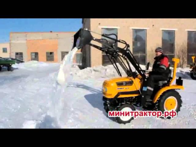Роторный плуг с карданным валом (РФ)   Минитрактор54