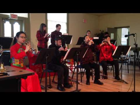 Tao Jin Ling 《淘金令》, performed by Guo Yazhi with the Cleveland Chinese Music Ensemble