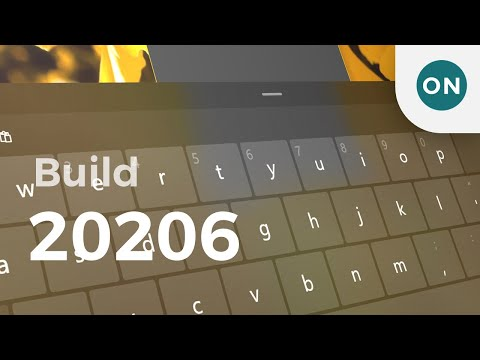 Hands on with new Touch Keyboard in Windows 10 Build 20206