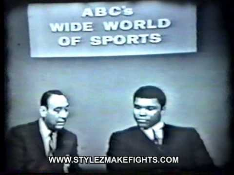 Muhammad Ali vs Cleveland Williams ABC Wide World of Sports Pt. 1 of 3