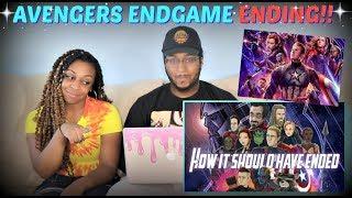 "Hishe ""How Avengers Endgame Should Have Ended"" REACTION!!!"
