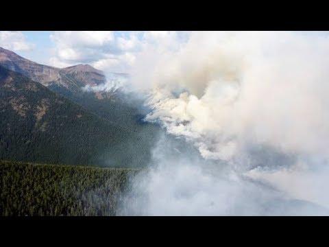 WATERTON LAKES FIRE