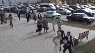 Гарик и Юлия во Дворце  Бракосочетания