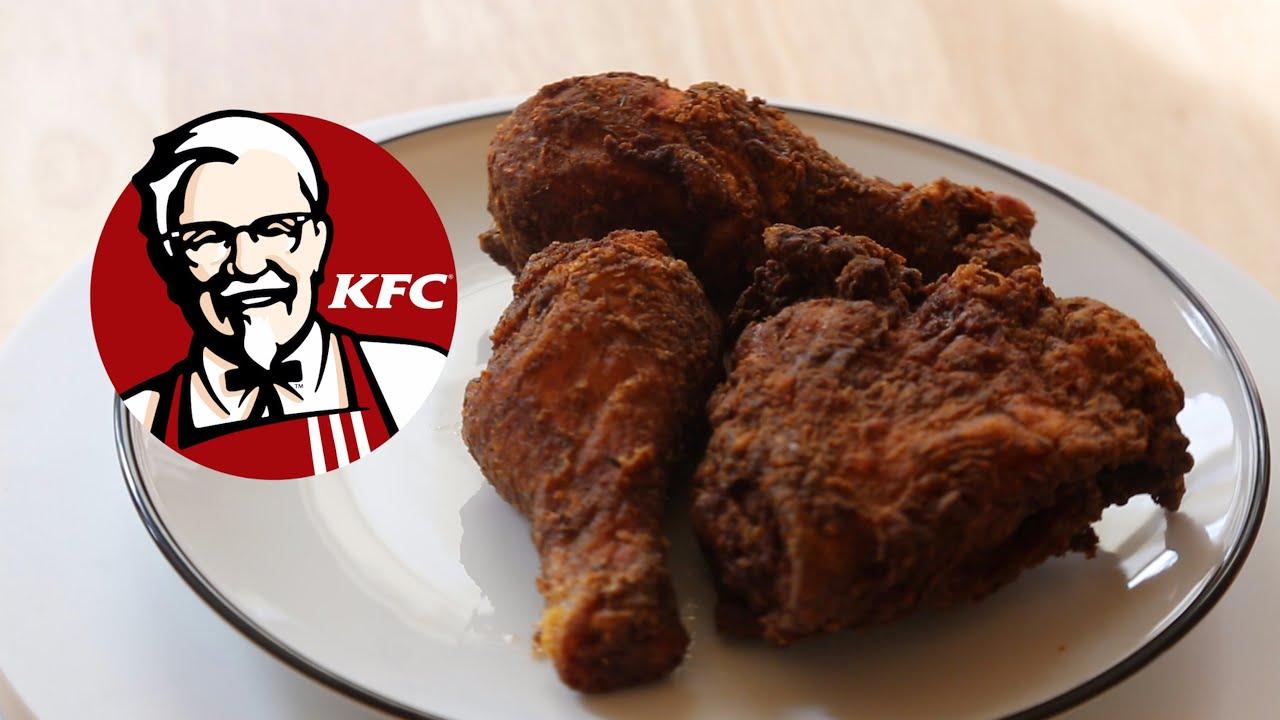 how to make kfc s original fried chicken youtube
