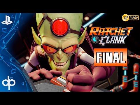 Ratchet and Clank PS4 Final Español | Jefe Final - Qwark y Doctor Nefarius