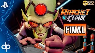 Ratchet and Clank PS4 Final Español | Jefe Final - Qwark y Doctor Nefarius