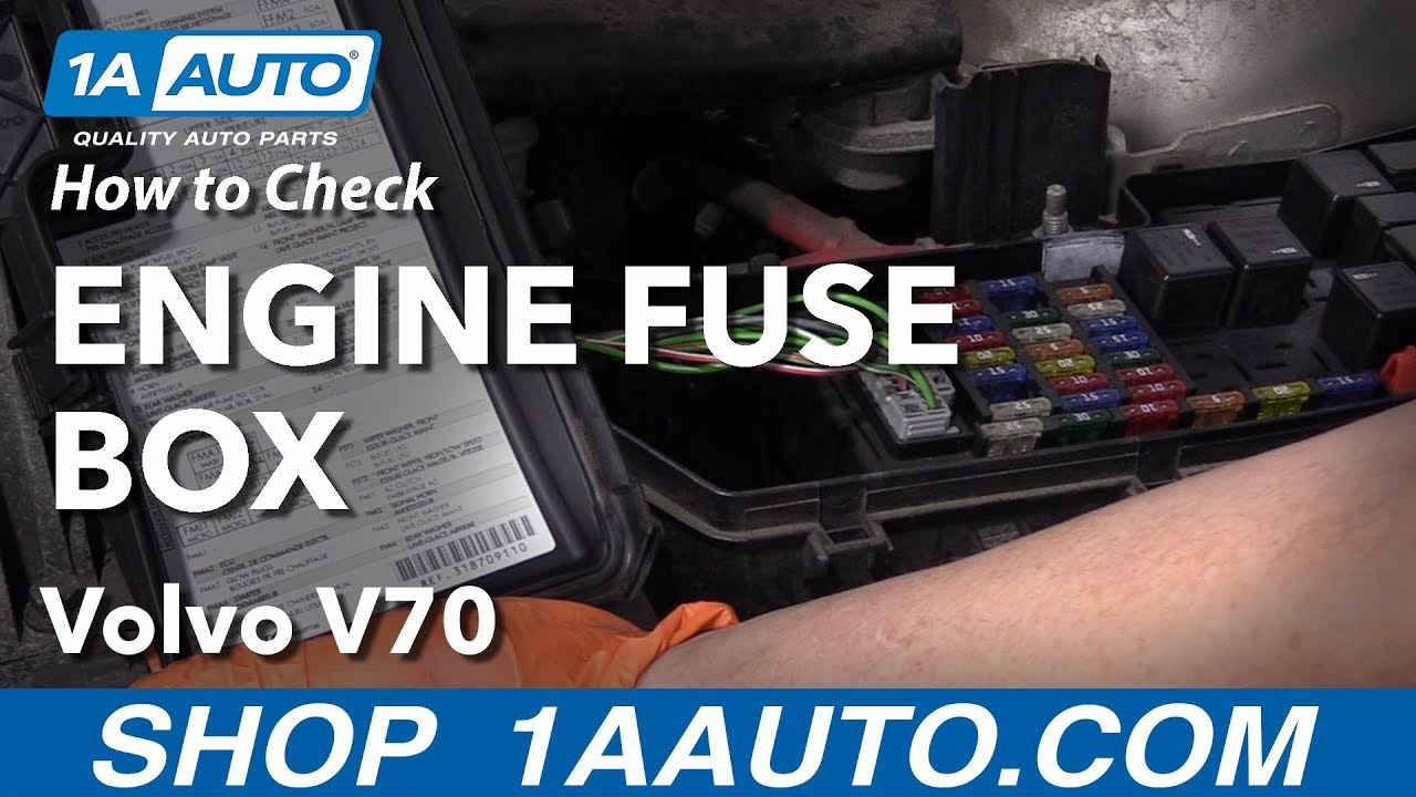 How to Check Engine Fuse Box 00-07 Volvo V70 - YouTube | Volvo Fuse Box V70 |  | YouTube