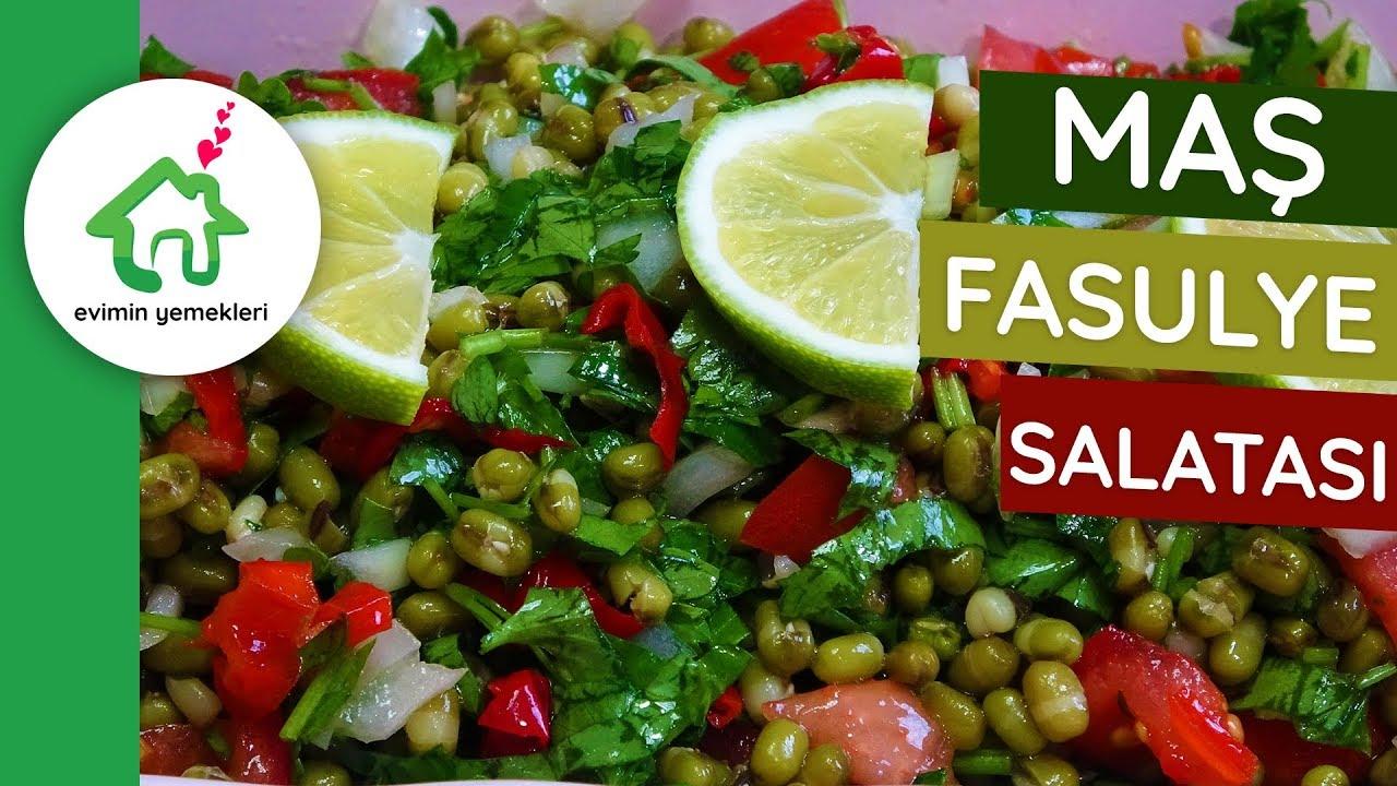 Maş Fasulyesi Salatası Videosu