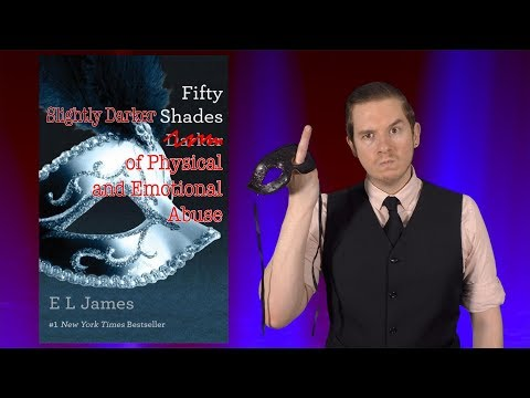 Fifty Slightly Darker Shades of Physical and Emotional Abuse, a book review by The Dom