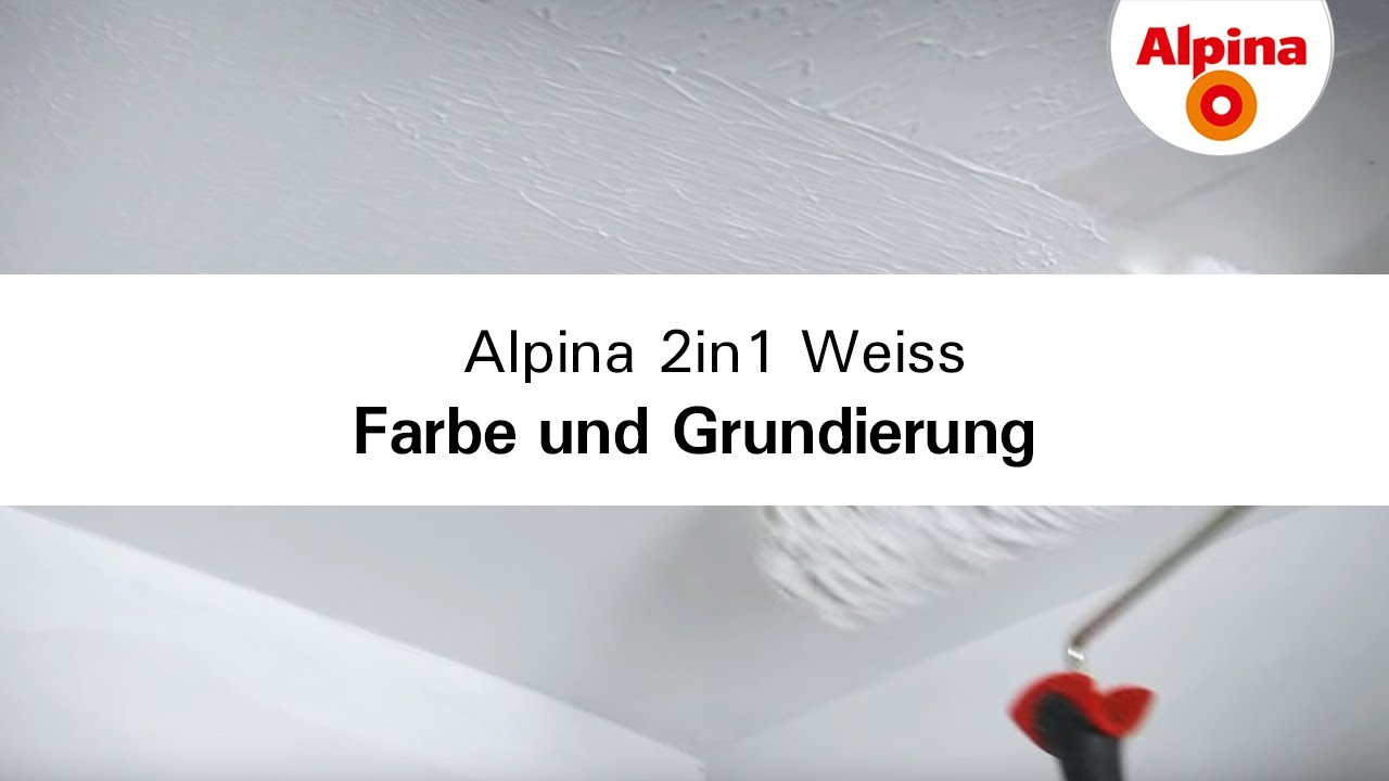 alpina 2in1 weiss farbe und grundierung in einem produkt. Black Bedroom Furniture Sets. Home Design Ideas