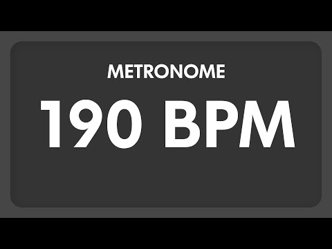 190 BPM - Metronome