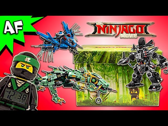 Lego Ninjago Movie Influencer MYSTERY BOX Unboxing & Review