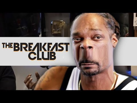 Snoop Dogg Loses his mind on The Breakfast Club