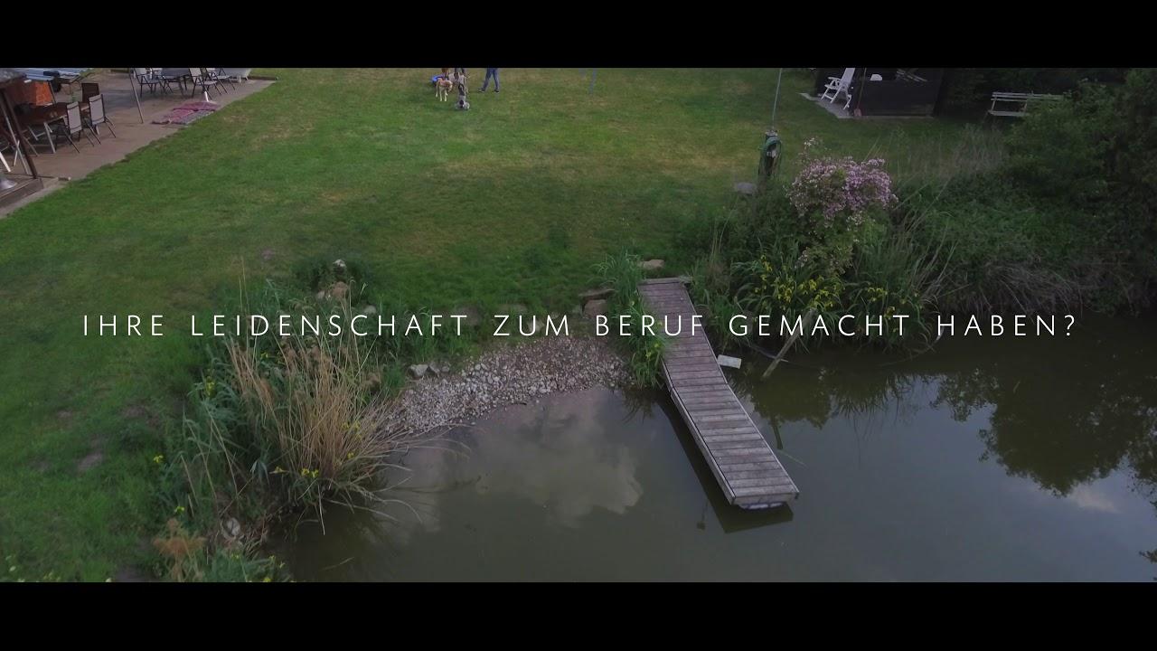 Ein Flug über unsere Hundeschule Loewenzahn in Rheine
