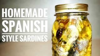 Spanish Style Sardines Recipe by Michelle