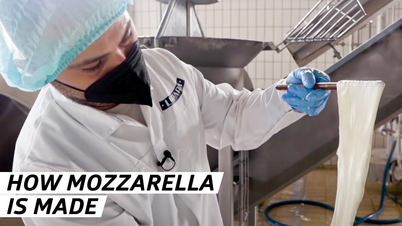 How one of the World's Biggest Mozzarella Distributers Makes its Cheese — Vendors