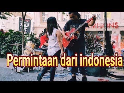 Secawan madu - pengamen malaysia permintaan dari indonesia
